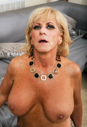 Hot german mature is so hungry for two russian cocks 3