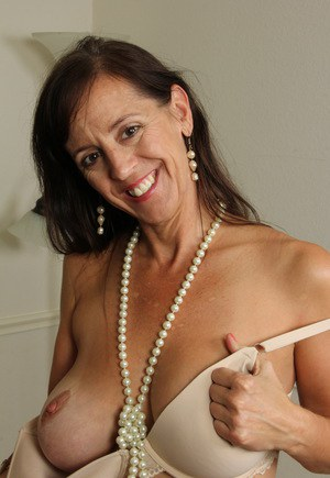 In mature montreal silk stocking woman