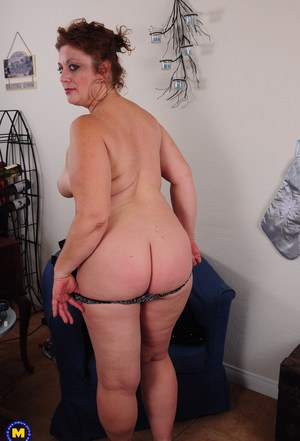 image Fat bbw granny mature gets fucked on couch