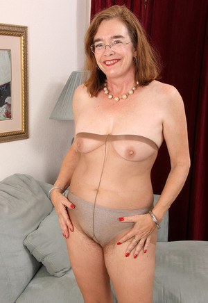 Hot. Love grandmas wearing pantyhose scene