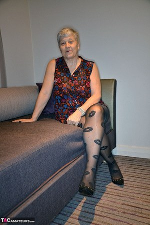 Not absolutely granny in nylons