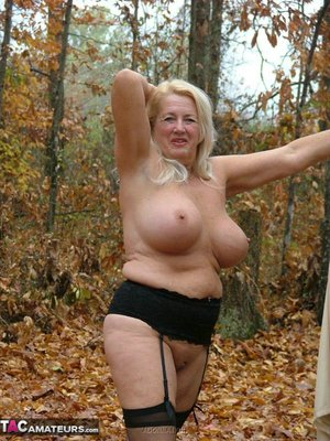 Perfect granny with big tits